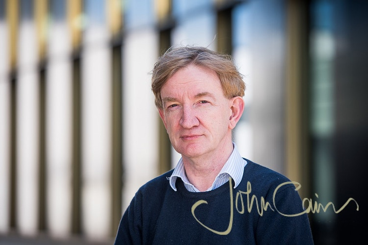 Prof. Adrian Hill - Head of The Jenner Institute, Oxford - John Cairns Photography
