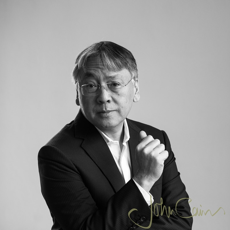Kazuo Ishiguro - Author, Nobel Prize in Literature and the Booker Prize - John Cairns Photography