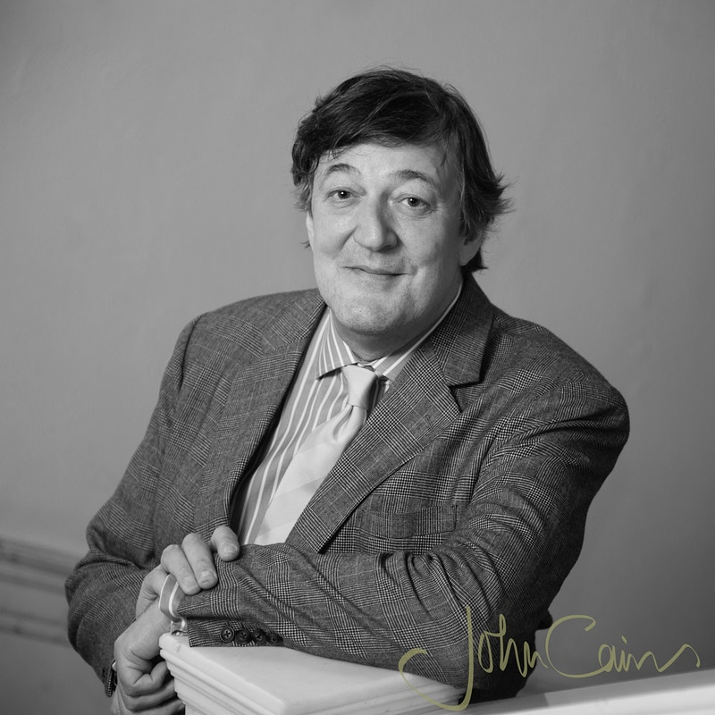 Stephen Fry - John Cairns Photography