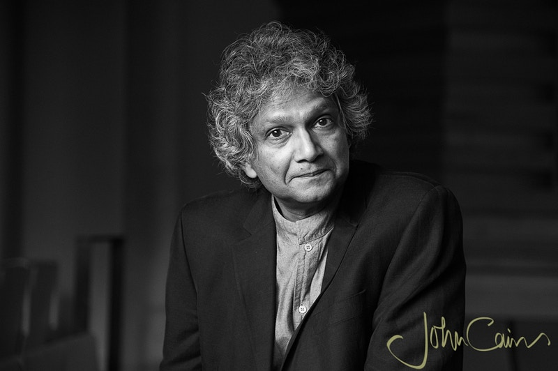 Romesh Gunesekera - Author - John Cairns Photography