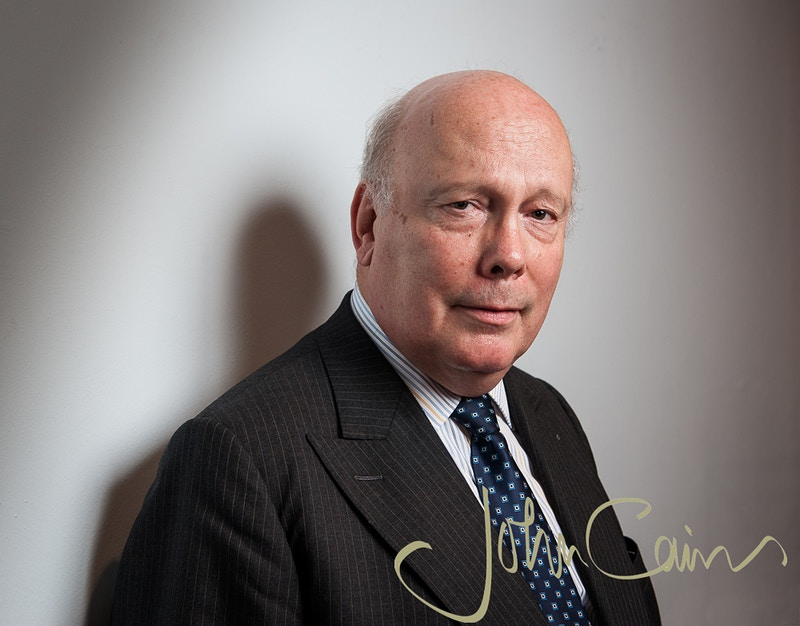Julian Fellowes - John Cairns Photography