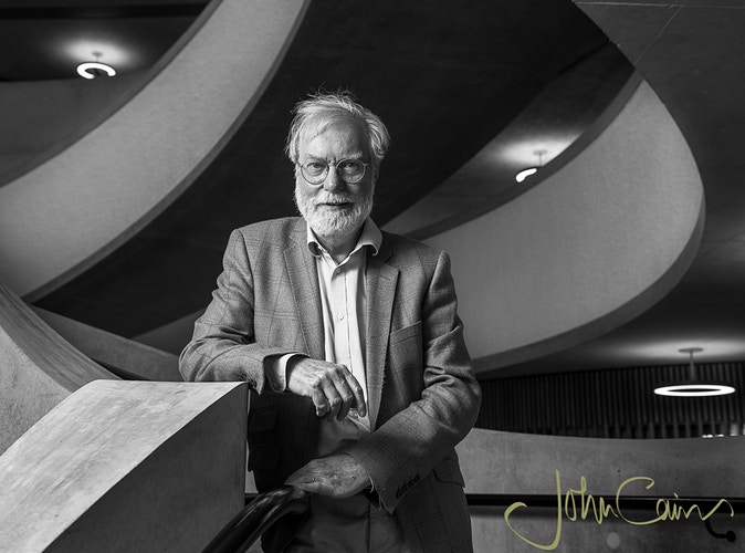 Sir Paul Collier at The Blavatnik School of Government - John Cairns Photography