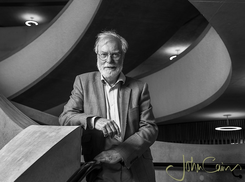 Sir Paul Collier - John Cairns Photography