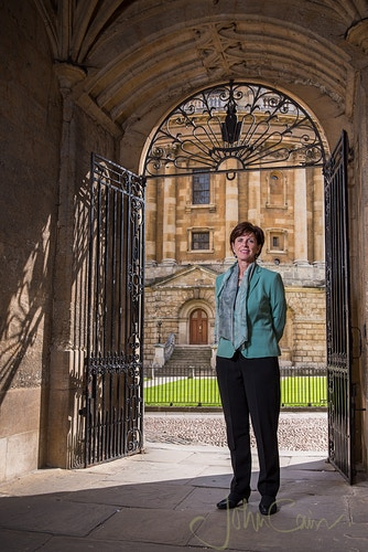 Professor Louise Richardson - Vice-Chancellor of The University of Oxford - John Cairns Photography
