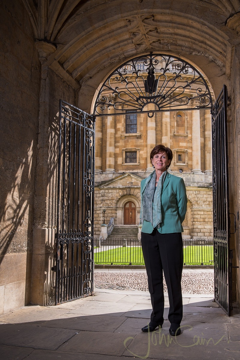 Professor Louise Richardson - John Cairns Photography