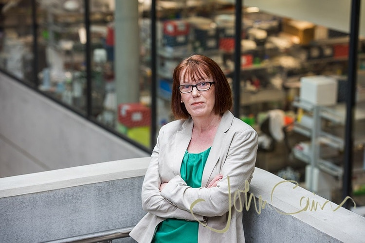 Professor Sarah Gilbert. Professor of Vaccinology and leading a team of researchers in the hunt for a vaccine for coronavirus Covid 19 - John Cairns Photography