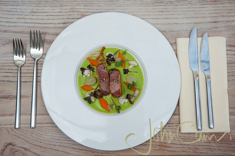 Food photography for The Folly Restaurant, Oxford - John Cairns Photography