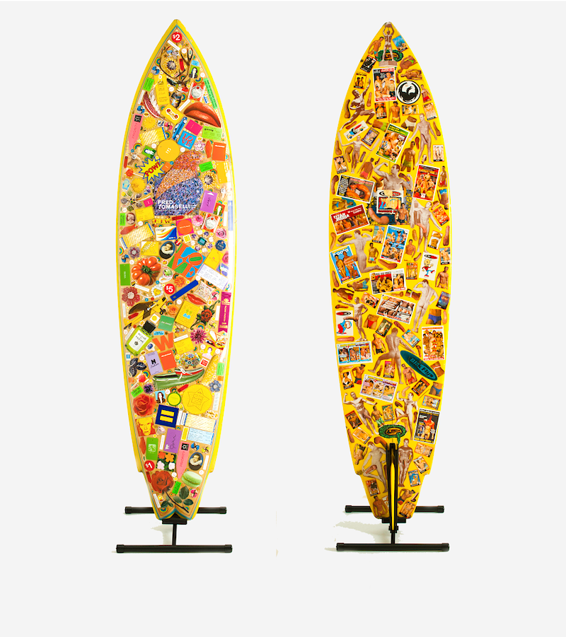 My Surfboard (The secret life of Felix Jesus Consalvos), 2013 - John Y. Wind | Artist