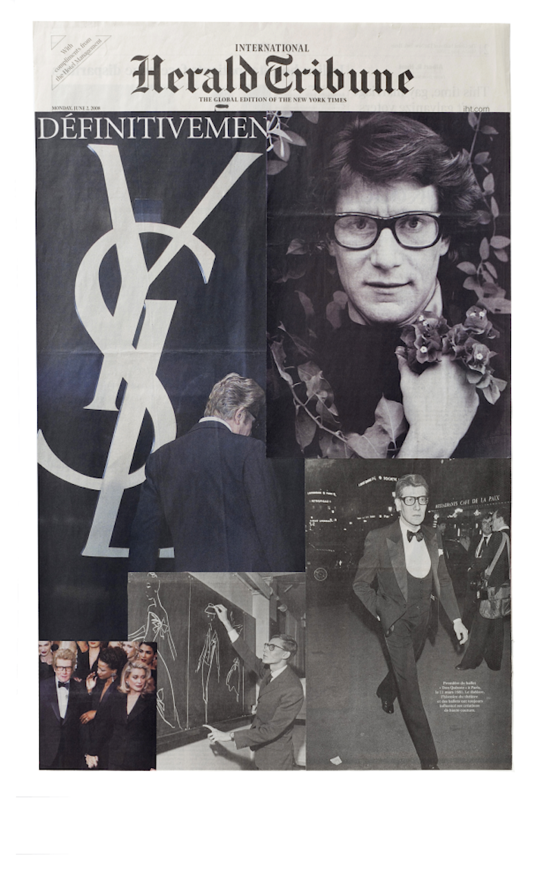 Dear Yves St. Laurent - John Y. Wind | Artist