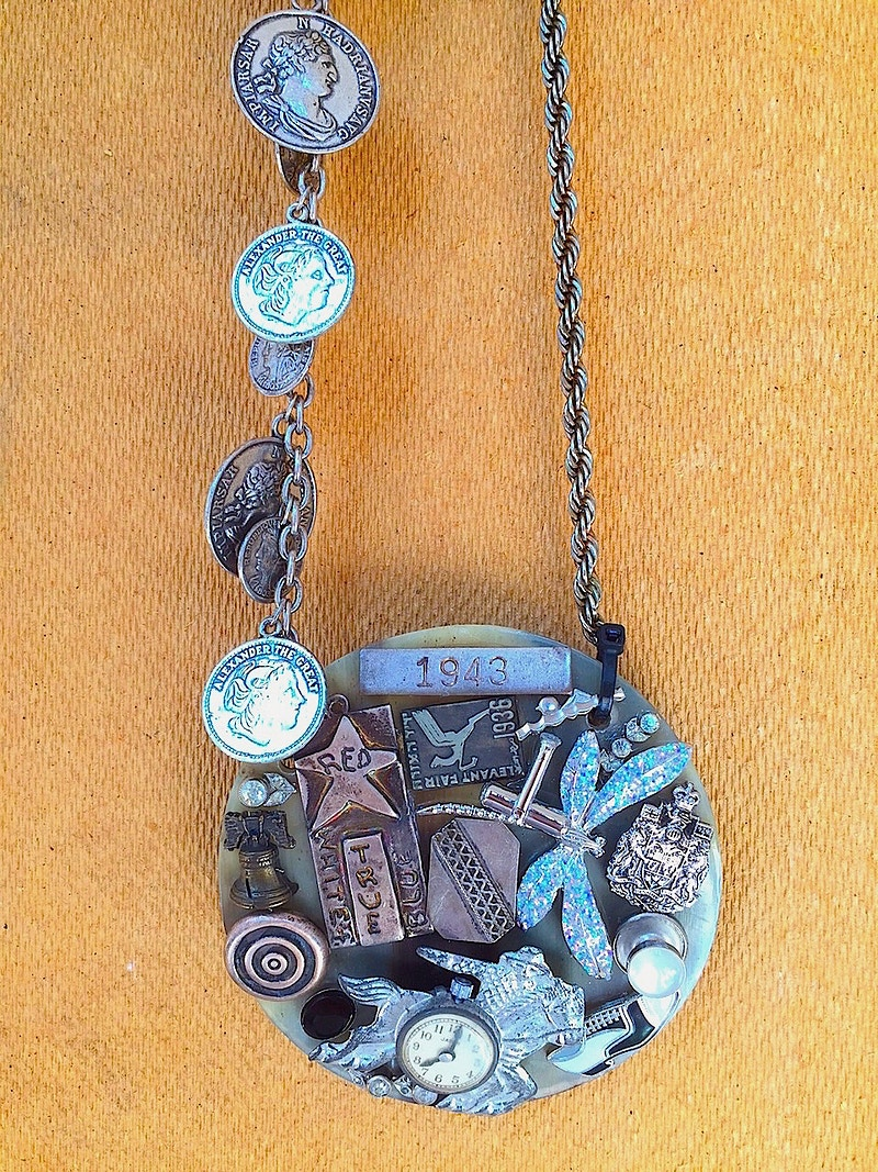 SOUVENIR MOSAIC NECKLACE, 2015 - John Y. Wind | Artist