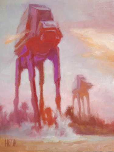 AT-AT Beach - Adam Hreha