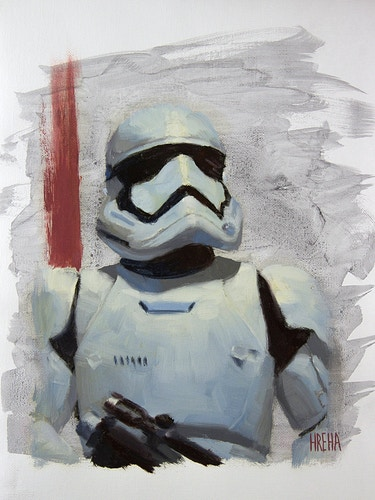First Order Stormtrooper - Adam Hreha