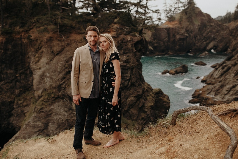 Scenic Oregon Coast Engagement - Jordan Voth | Seattle Wedding & Portrait Photographer