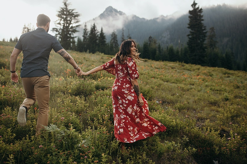 Dana Sam Snoqualmie Pass Wa - Jordan Voth | Seattle Wedding & Portrait Photographer