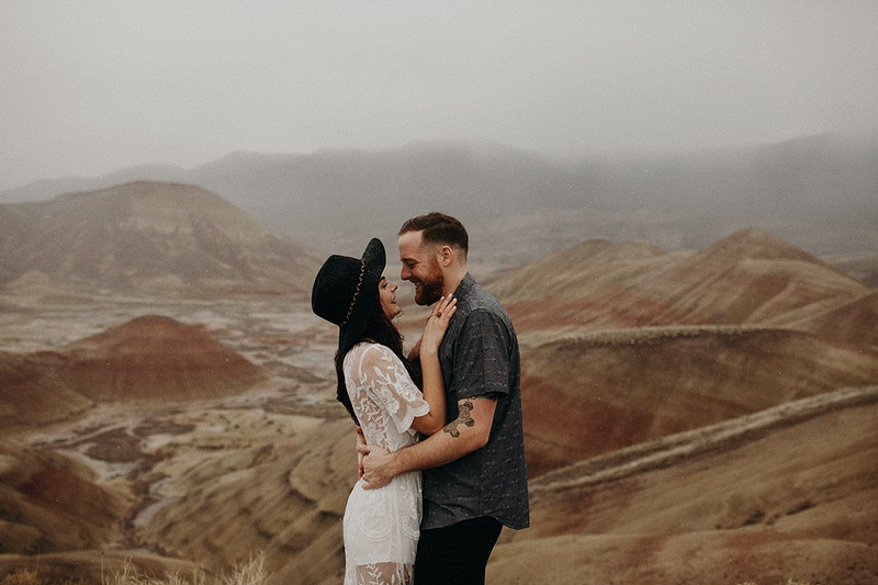 Kalen Kyle Painted Hills Or - Jordan Voth | Seattle Wedding & Portrait Photographer
