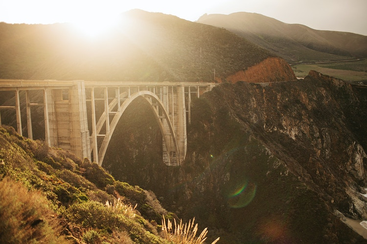 Bixby Bridge at Sunrise - Jordan Voth | Seattle Wedding & Portrait Photographer