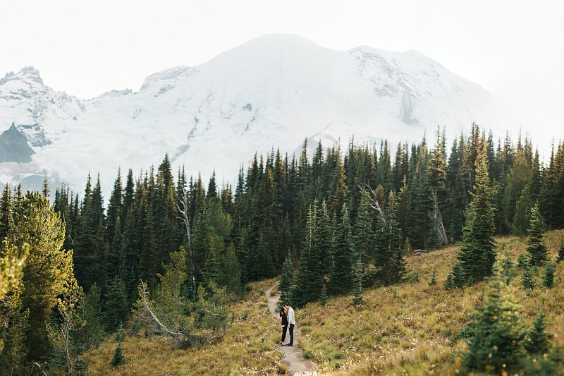 Lien Will Mt Rainier National Park - Jordan Voth | Seattle Wedding & Portrait Photographer