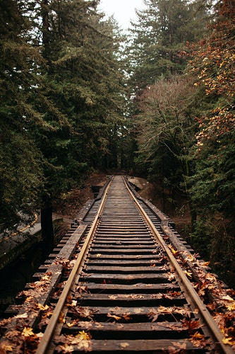 Train Tracks - Jordan Voth | Seattle Wedding & Portrait Photographer