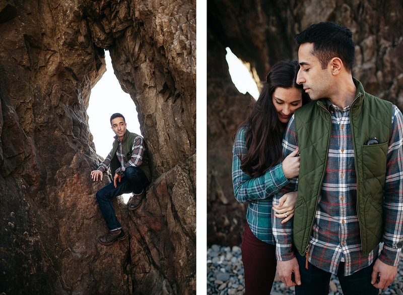 Soraya Ehssan Olympic National Park - Jordan Voth | Seattle Wedding & Portrait Photographer