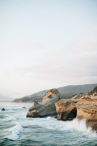 Cape Kiwanda at Sunset - Jordan Voth | Seattle Wedding & Portrait Photographer
