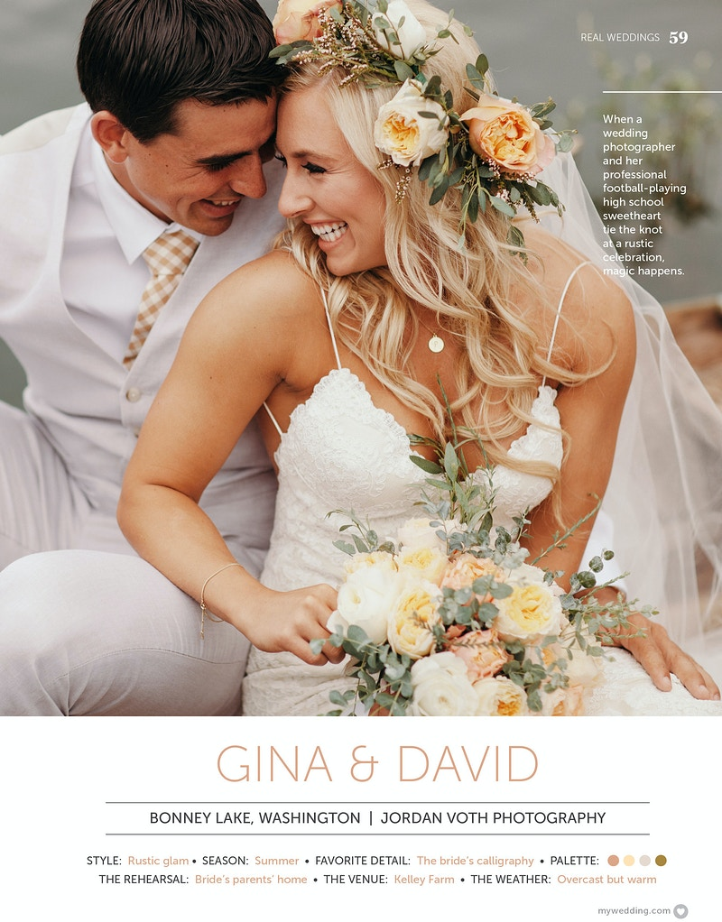 Tear Sheets - Jordan Voth | Seattle Wedding & Portrait Photographer