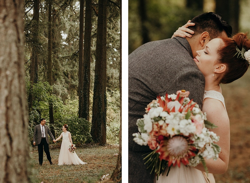 A Portland Forest Wedding - Jordan Voth | Seattle Wedding & Portrait Photographer
