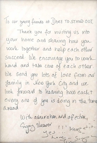 Letters From Kids - JORVAN OUTREACH