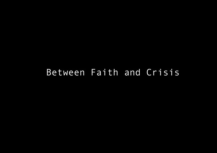 Between Faith And Crisis In Progress - Jose Colon