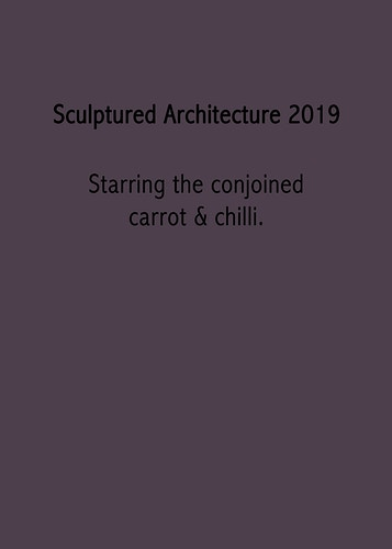 Sculptured Architecture - Jo Sowry