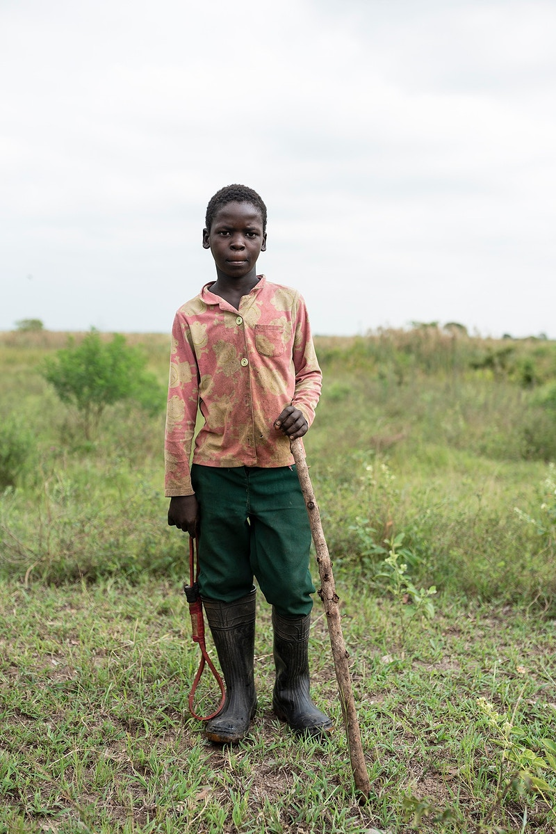 Child Shepherds In Mozambique - Juan Luis Rod
