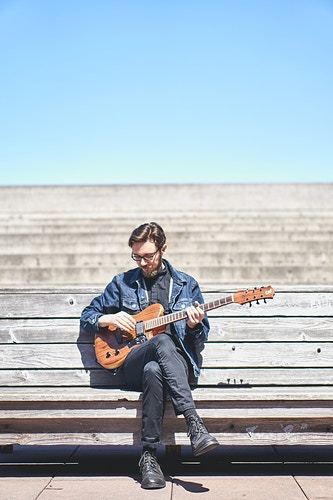 Musician Portrait Series Niko - Julie Leong Photography