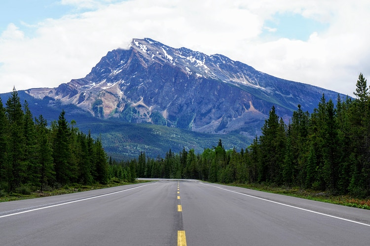 Ice Fields Parkway - Jasper National Park Canada - Justin Britton Photography
