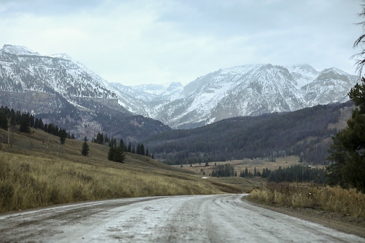Back Roads - Jasper Wyoming - Justin Britton Photography