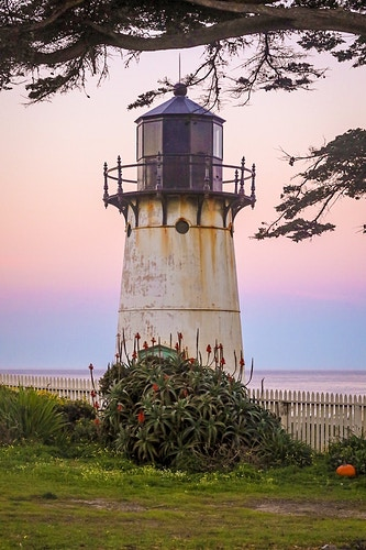 The Point Montara Light - California Sunrise - Justin Britton Photography