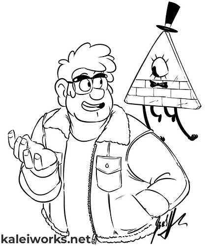 Gravity Falls - Kalei Works