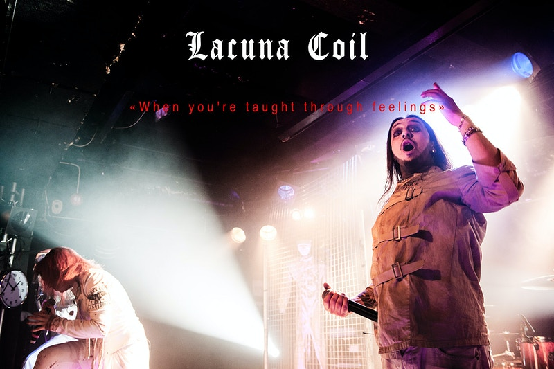 Lacuna Coil - karim mansour imagery