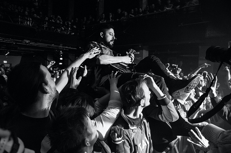 the dillinger escape plan (us) - karim mansour imagery