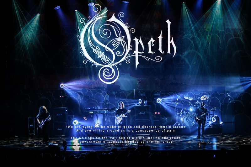 Opeth - karim mansour imagery