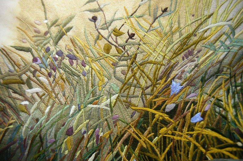 Summer Field (detail) (1985 - 90) - KATE WELLS artist
