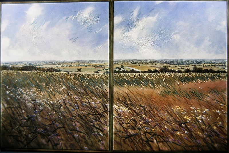 The Glory of the Field (1986) - KATE WELLS artist