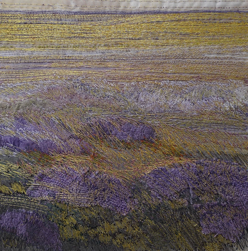 Back To The Land Embroidery And Paperwork - KATE WELLS artist