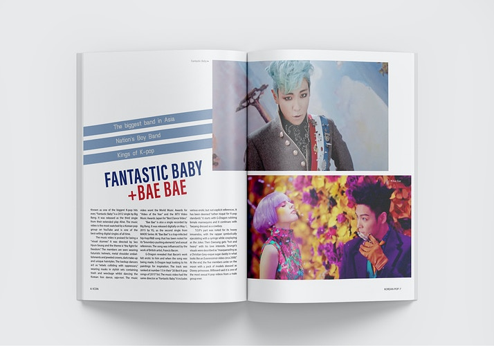 K Pop Zine Design - Katie Frezza