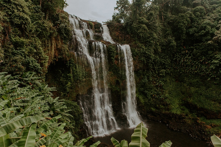 Laos Waterfall - Katie Ruther