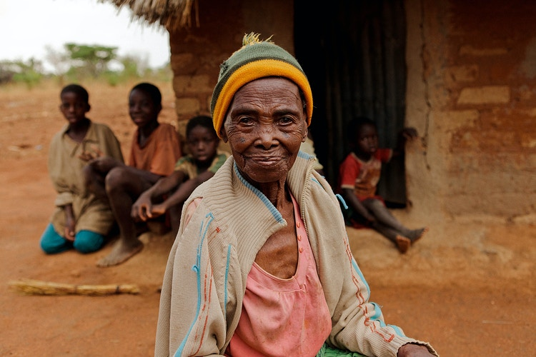 Zambian Grandmother - Katie Ruther