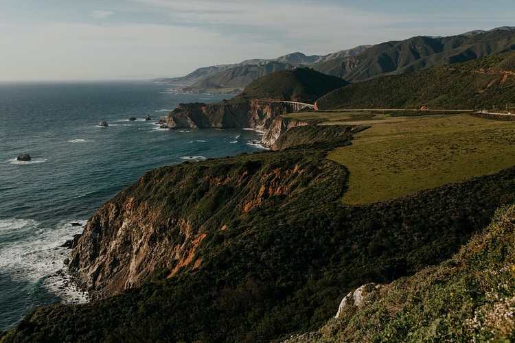 Bixby Bridge from afar - Katie Ruther