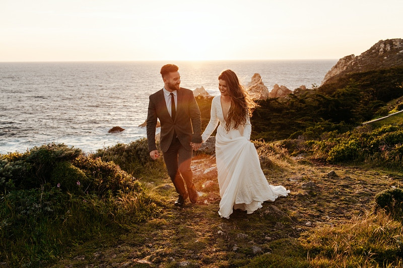 Jacob And Catherine Big Sur - Katie Ruther