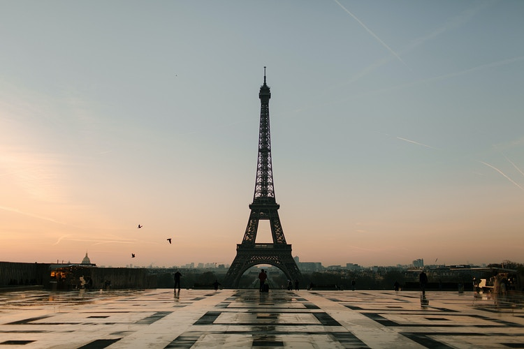 Eiffel Tower - Katie Ruther