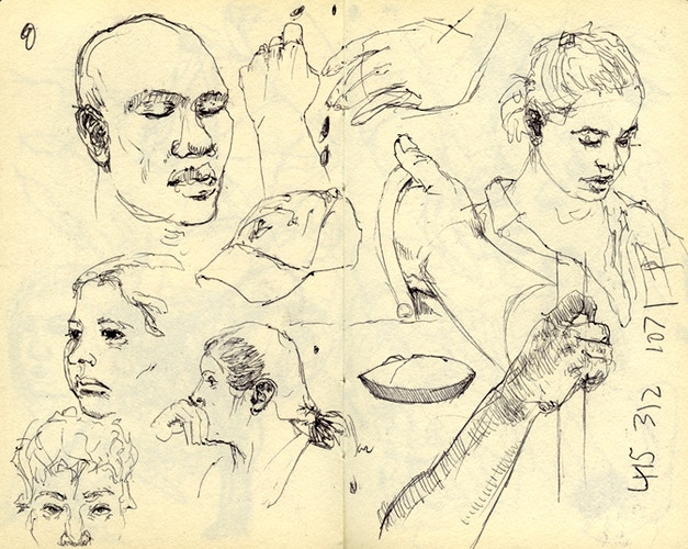 Sketches - KEMP REMILLARD