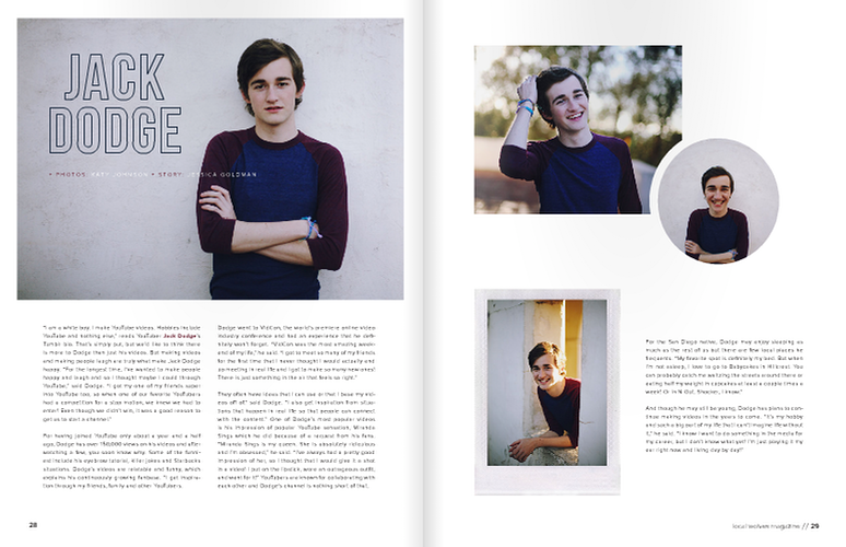 Local Wolves Issue 14 - April 2014 - KATY VIOLA