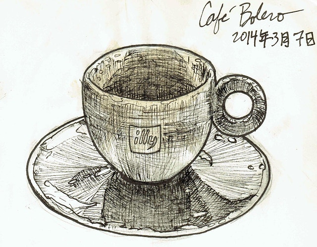 Café Bolero - Keith Spencer